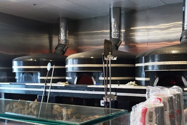 Pizza ovens at Tre Forni in Durham- NC Triangle Dining