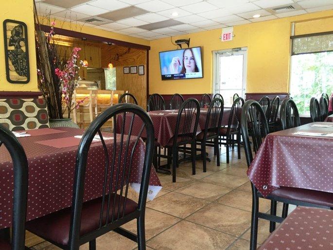 Interior of Thai 55 in Durham - NC Triangle Dining