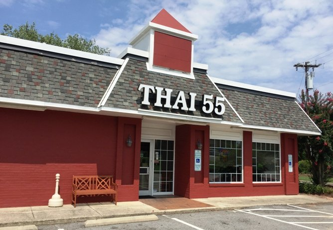 Front of Thai 55 in Durham - NC Triangle Dining
