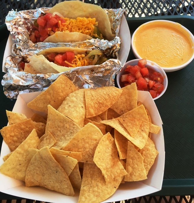 Tacos and queso at Armadillo Grill in Raleigh- NC Triangle Dining