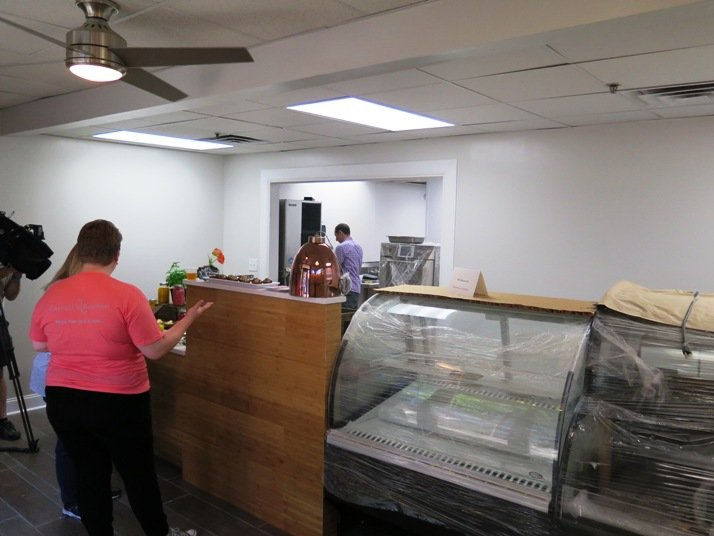 Counter area of Carroll's Kitchen in downtown Raleigh- NC Triangle Dining
