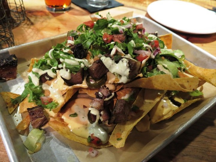 Fritos with brisket app at Bare Bones in Raleigh- NC Triangle Dining