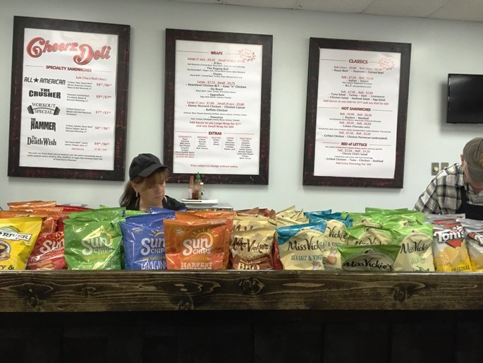 Order counter at Cheerz Deli in Durham - NC Triangle Dining
