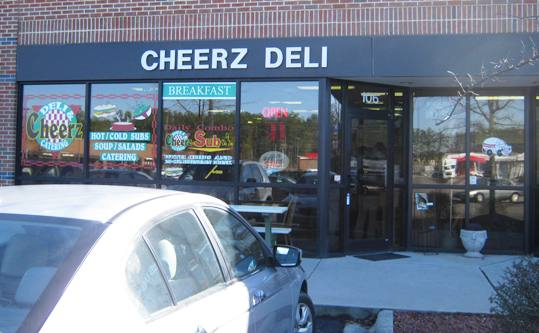 Front of Cheerz Deli in Durham - NC Triangle Dining