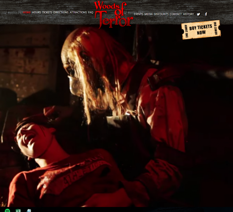 Woods of Terror in Greensboro (From business website) - NC Triangle Dining