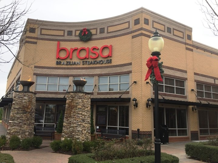 Front of Brasa Brazilian Steakhouse in Raleigh - NC Triangle Dining