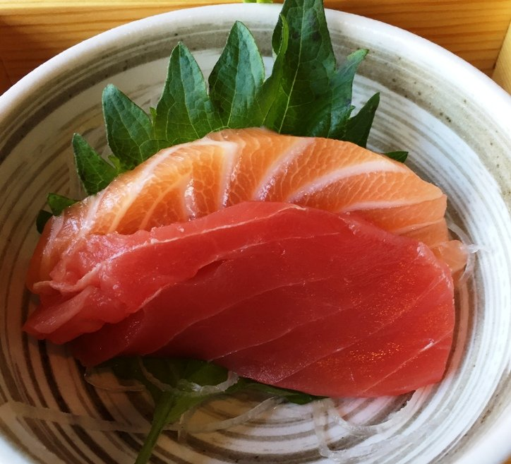 Sashimi at City Market Sushi, Raleigh - NC Triangle Dining