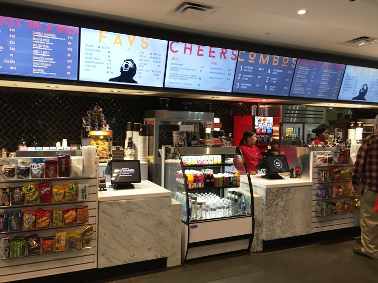 Concessions at Silverspot Cinema in Chapel Hill - NC Triangle Dining