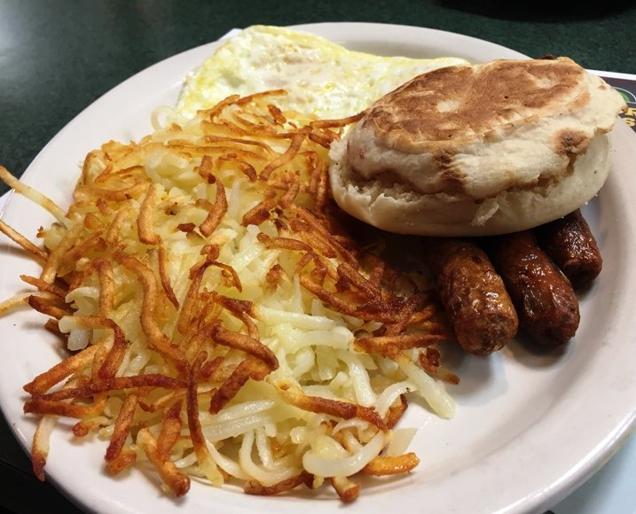 Bissell breakfast at Metro Diner in Raleigh - NC Triangle Dining