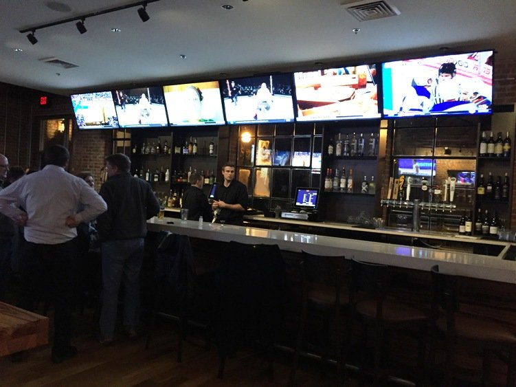 Bar at the new Tobacco Road Sports Raleigh - NC Triangle Dining