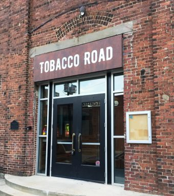 Front entry to Tobacco Road Sports in Raleigh - NC Triangle Dining
