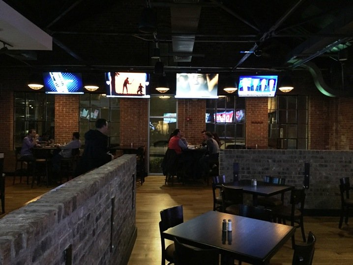 Dining room at the new Tobacco Road Sports Raleigh - NC Triangle Dining