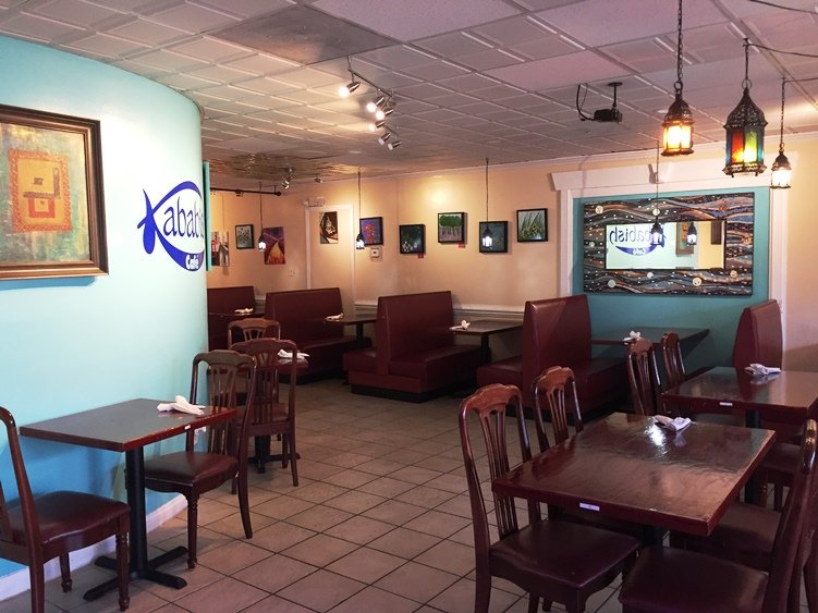 Main dining room at Kababish Cafe in Cary - NC Triangle Dining