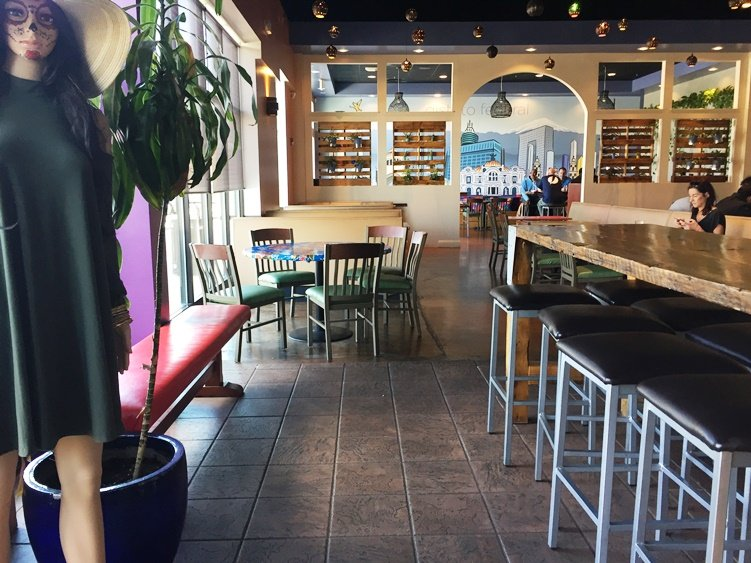 Dining room at Viva DF in Morrisville - NC Triangle Dining