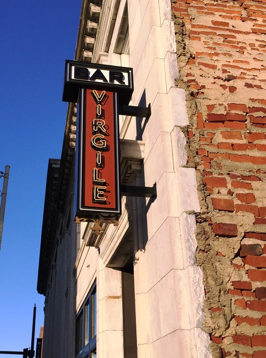 Front of Bar Virgile in Durham - NC Triangle Dining