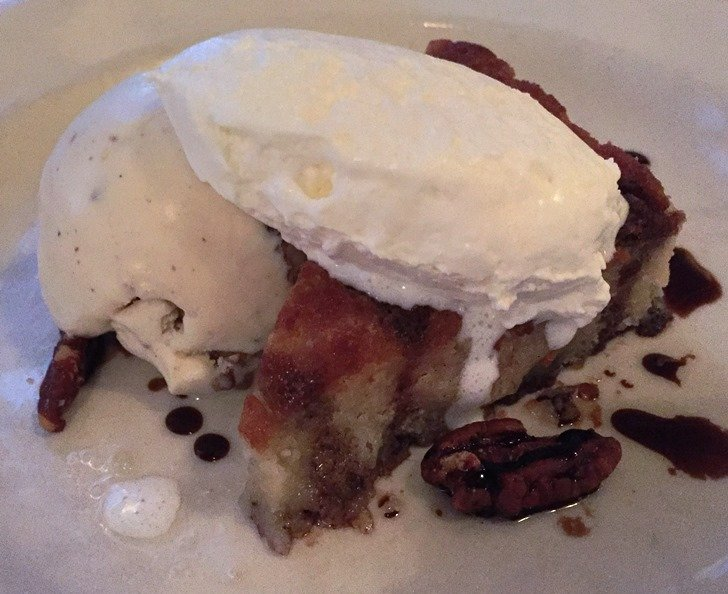 Gooey cake at Bloomsbury Bistro in Raleigh - NC Triangle Dining