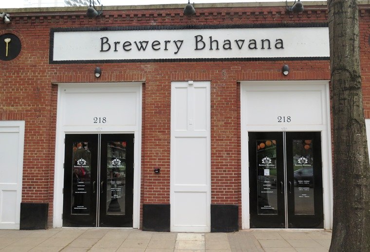 Front of Brewery Bhavana in Raleigh - NC Triangle Dining