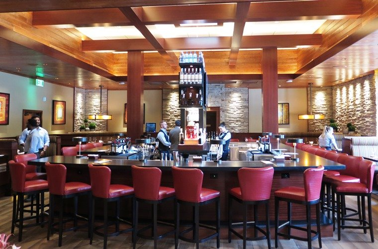 Bar at Seasons 52 in Raleigh - NC Triangle Dining