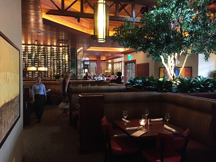 Dining room at Seasons 52 in Raleigh - NC Triangle Dining