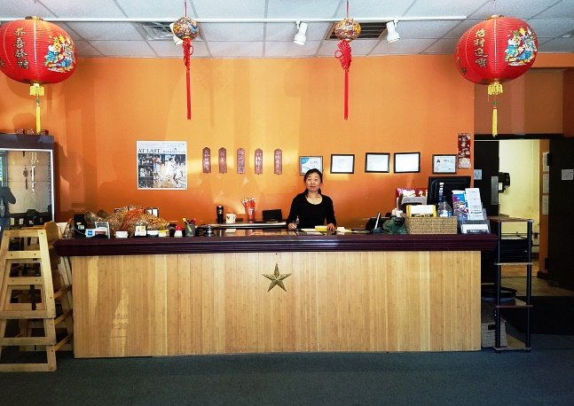Front counter at Dim Sum House in Morrisville - NC Triangle Dining