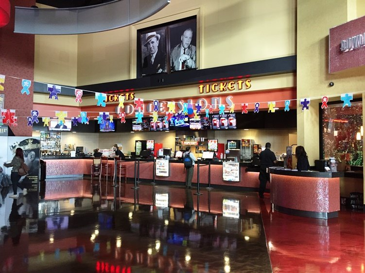 Concessions at Frank Theatres Cinebowl in Cary - NC Triangle Dining