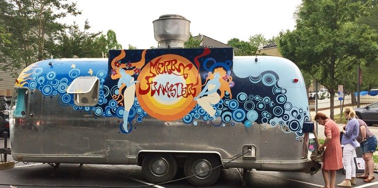 Merry Franksters food trailer based out of Carrboro - NC Triangle Dining