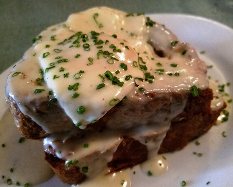 Croque madame at Poole's Diner in Raleigh - nctriangledining.com