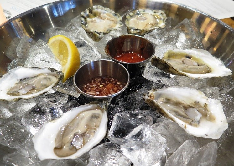 Fresh NC oysters at Cortez Seafood in Raleigh - NC Triangle Dining