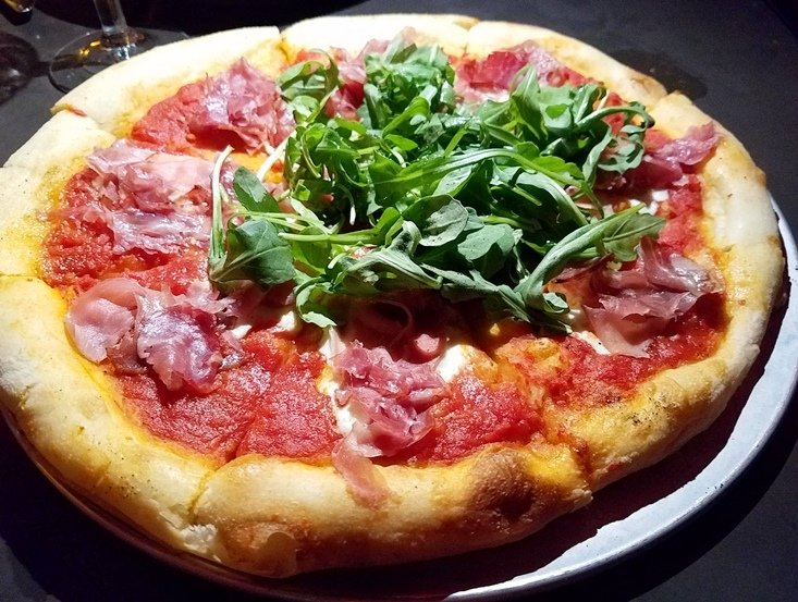 Salumeria pizza at Mulino Italian Kitchen in Raleigh - NC Triangle Dining