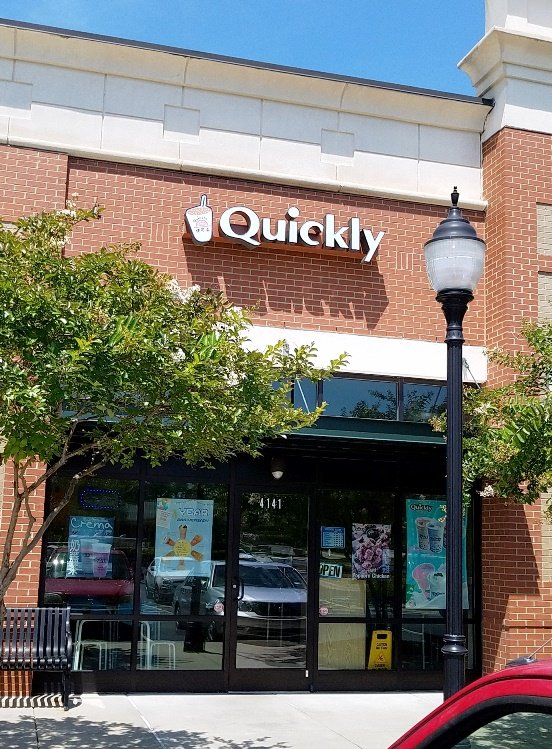 Front of Quickly in Morrisville - NC Triangle Dining
