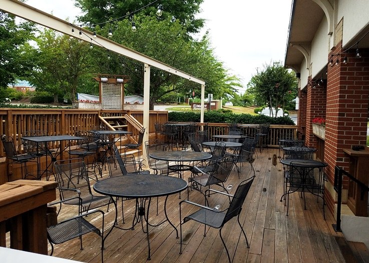 Patio at Smok't BBQ & Taps in Cary - NC Triangle Dining