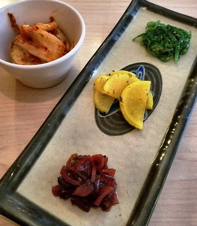 Banchan at Aroma Korea in Cary - NC Triangle Dining