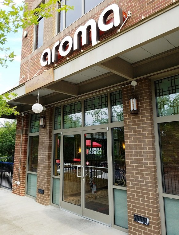 Front of Aroma Korea in Cary - NC Triangle Dining