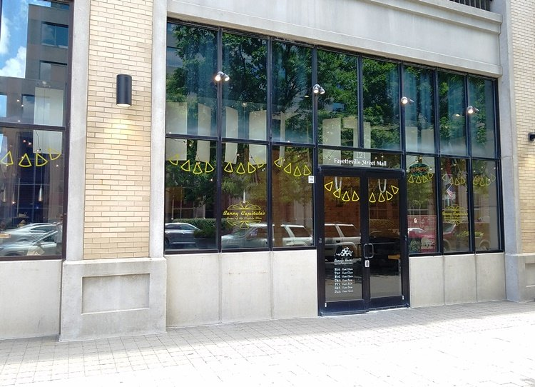 Front of Benny Capitale's in Raleigh - NC Triangle Dining