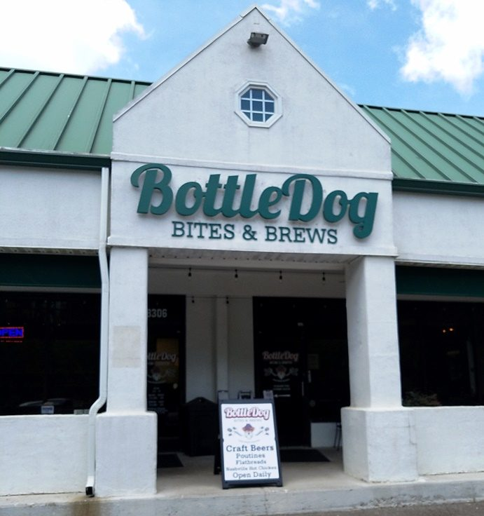 Front of Bottledog Bites & Brews in Cary - NC Triangle Dining
