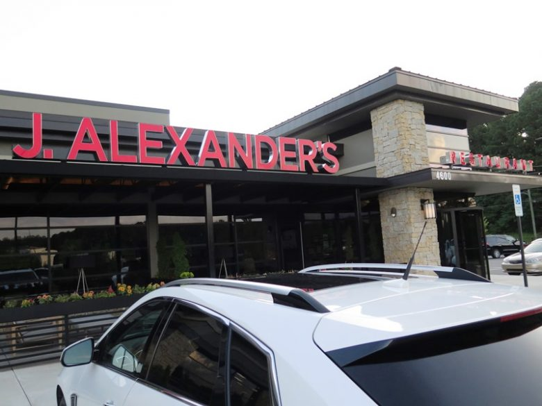 J. Alexander's in Raleigh - NC Triangle Dining