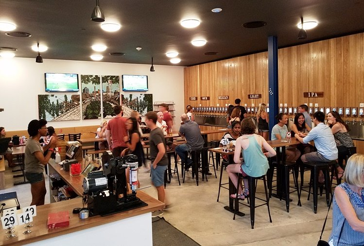 Pour Taproom at the new Unscripted Hotel Durham - NC Triangle Dining