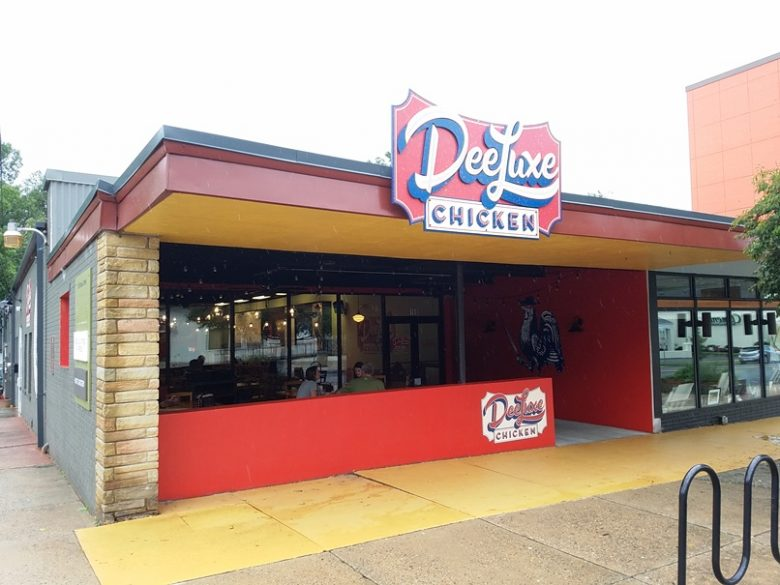 Front of DeeLuxe Chicken in Durham - nctriangledining.com