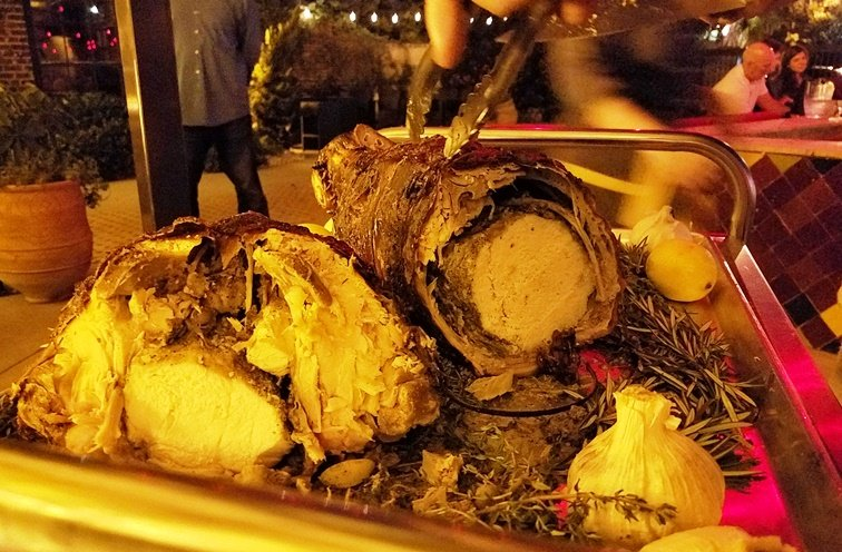 Roast porchetta at Mulino Italian Kitchen in Raleigh - NC Triangle Dining