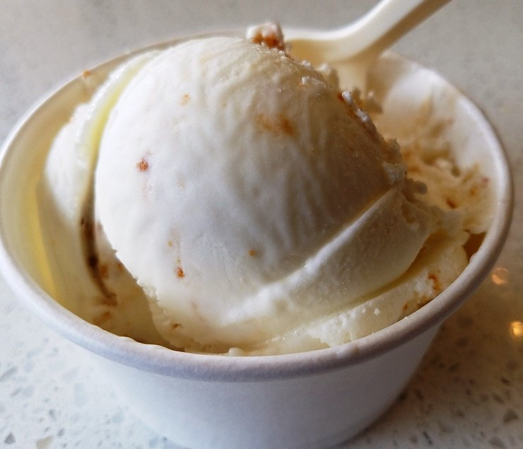 Butterscotch haystack at Two Roosters Ice Cream in N. Raleigh - nctriangledining.com