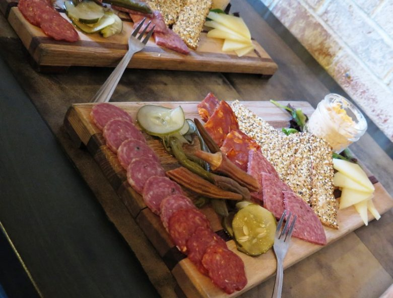 Charcuterie board at It's a Southern Thing in Durham - nctriangledining.com