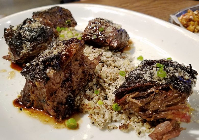 Seared short rib at La Stella Wood Fired in Raleigh - nctriangledining.com