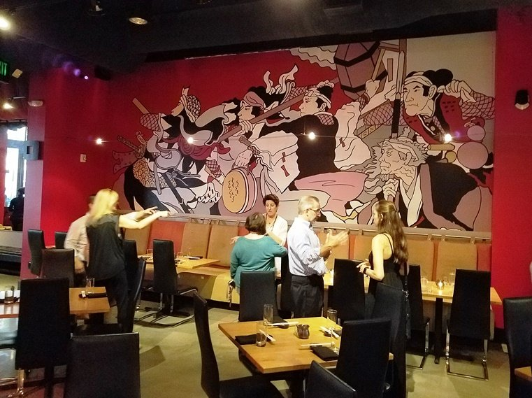 Refreshed dining room at Sono Sushi in Raleigh - nctriangledining.com