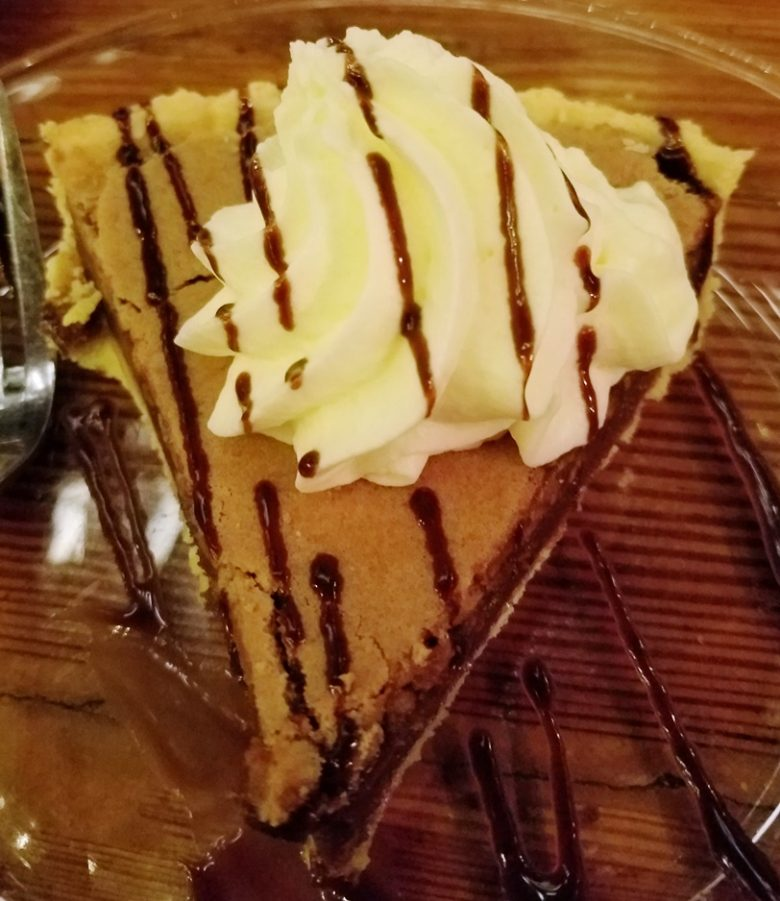 Chocolate chess pie at the Angus Barn in Raleigh - nctriangledining.com