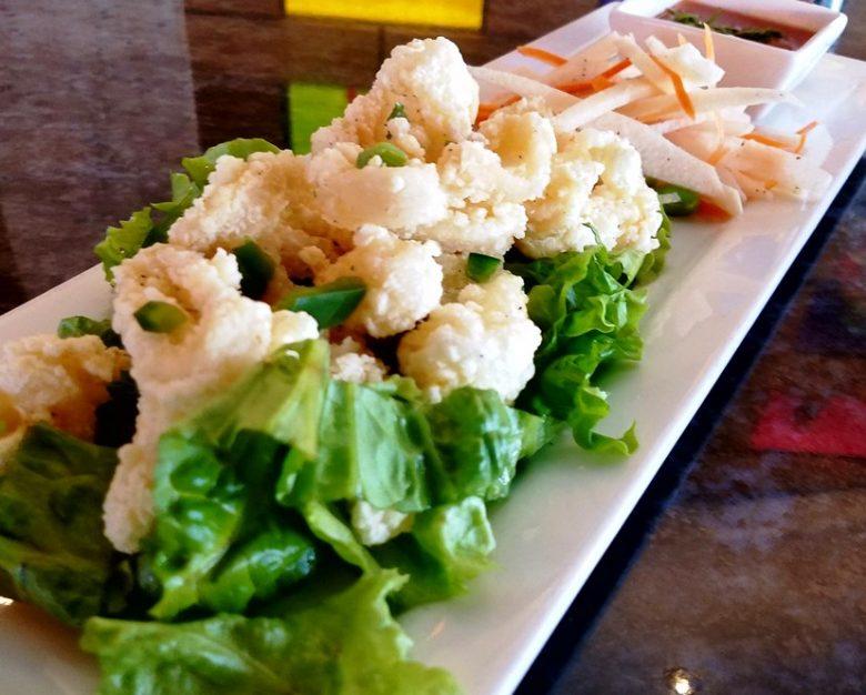 Fried calamari at Saigon Grill & Bar in Raleigh - nctriangledining.com