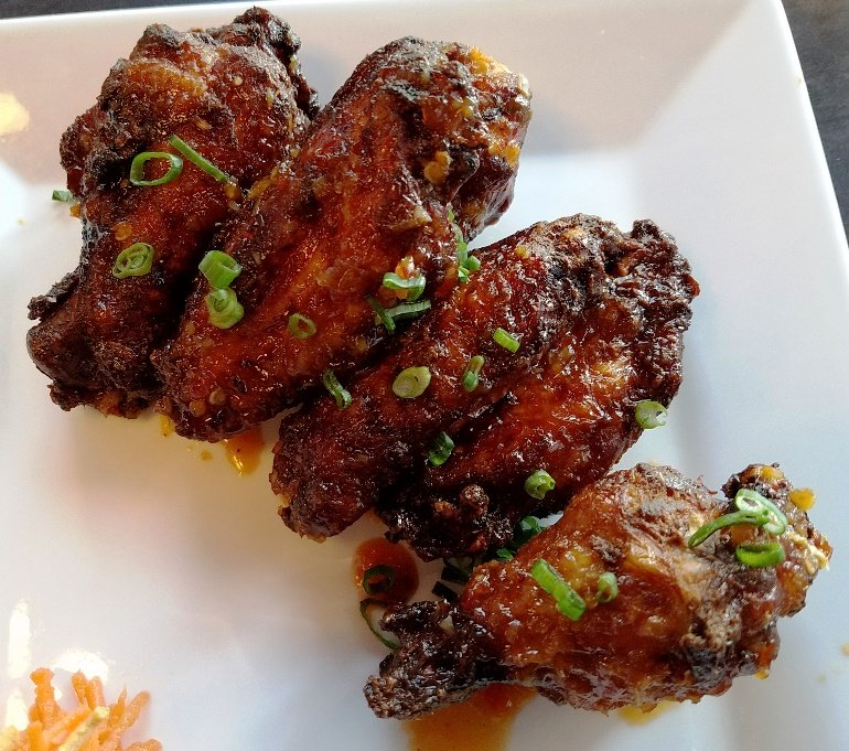 Malaysian chili wings at CO in Raleigh - nctriangledining.com