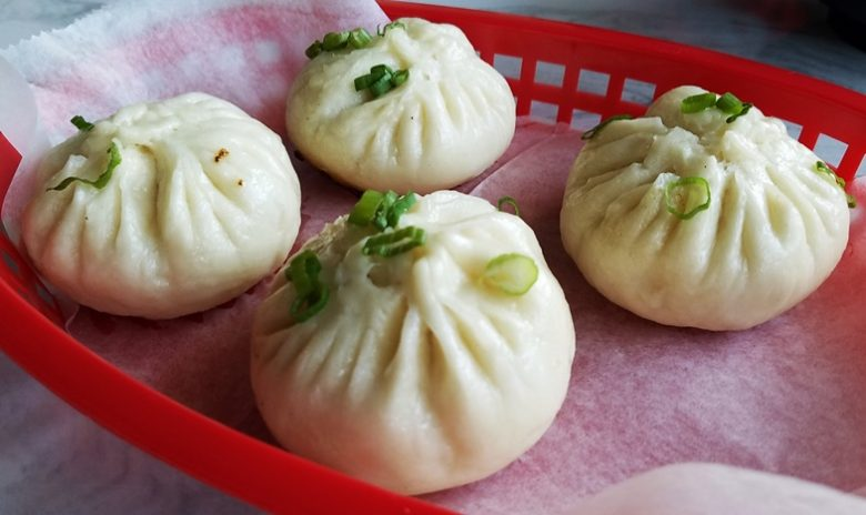 Pan-fried buns at Peking Duck & Dumplings in Raleigh - nctriangledining.com