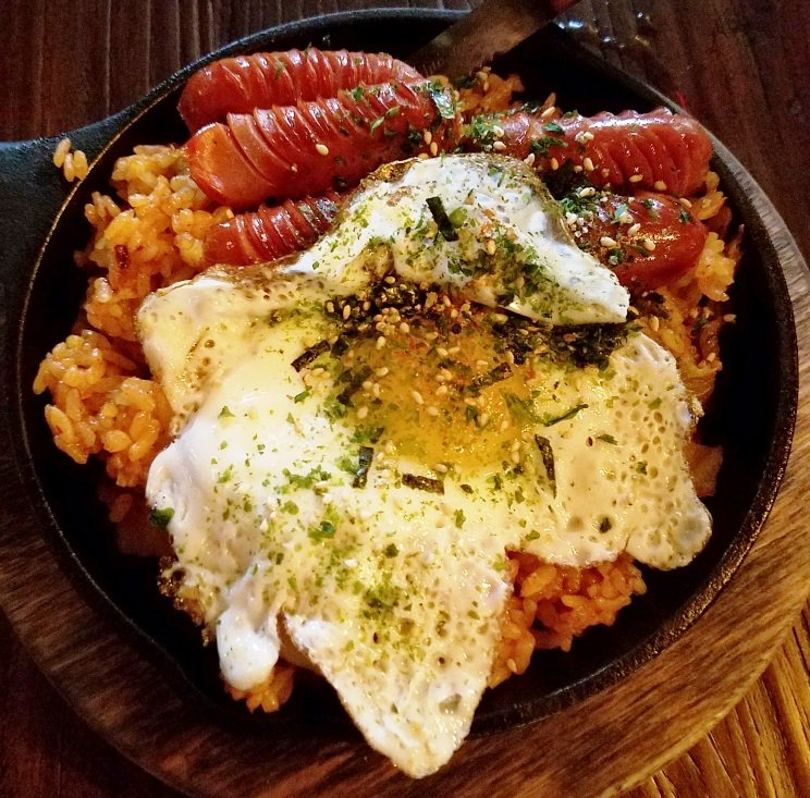 Kimchi fried rice at Seoul 116 in Raleigh - nctriangledining.com