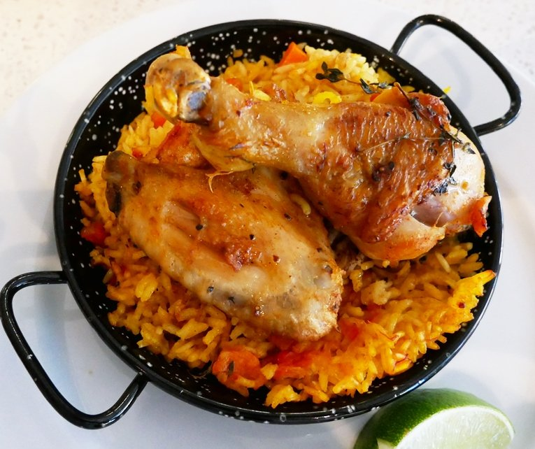 Arroz con pollo at COPA in Durham – nctriangledining.com