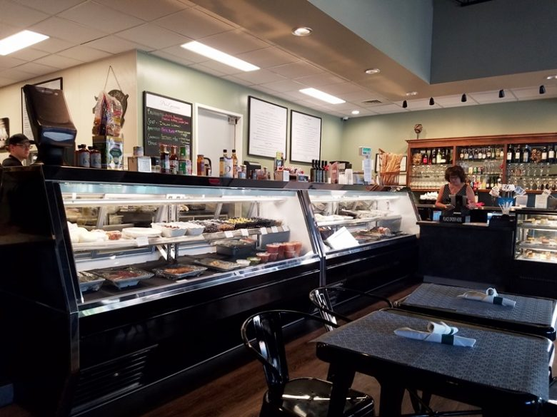 Order counter at Pro's Epicurean Market and Cafe in Cary - nctriangledining.com